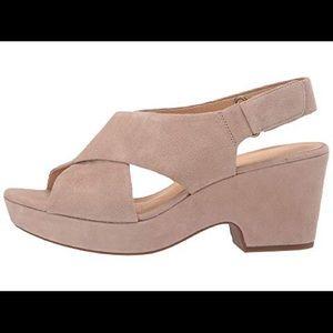 Clark's Maritsa Lara platform wedge sandal